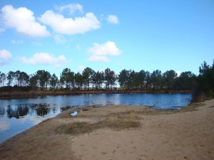 la plage à proximité à pied