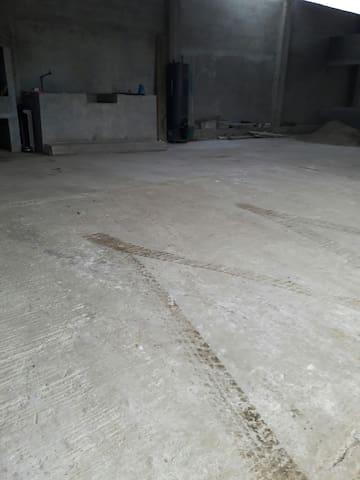 Patio garaje