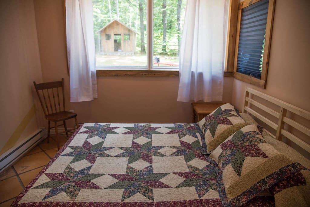 Cabin Bedroom with Queen