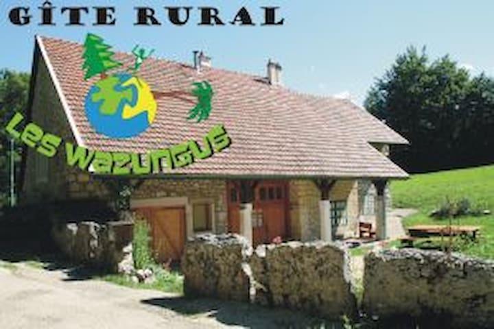 LES WAZUNGUS - Hauteville-Lompnes - Ház
