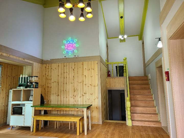 joy house(2p) close to hot spring, subway station