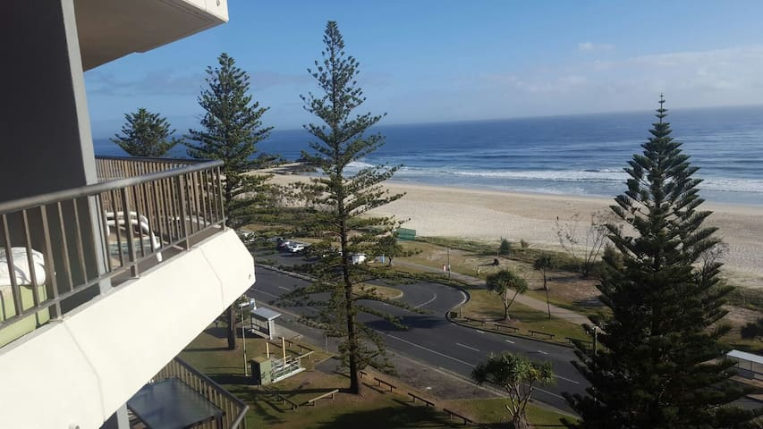 Ocean beachfront room