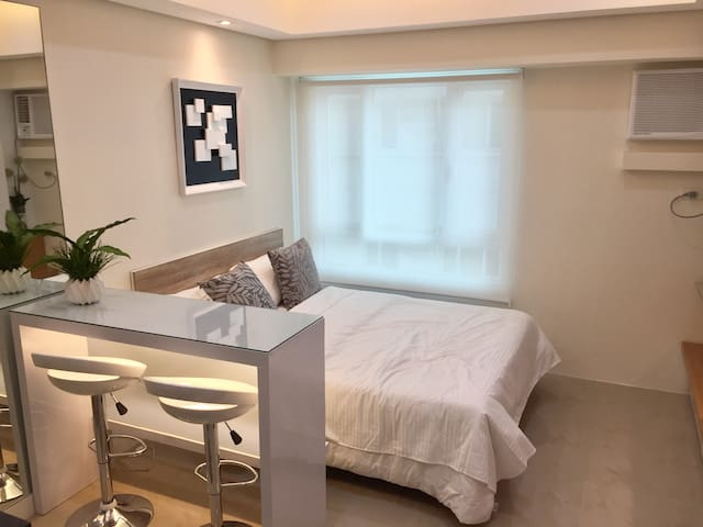 Modern Cozy Studio Unit in Makati near Greenbelt