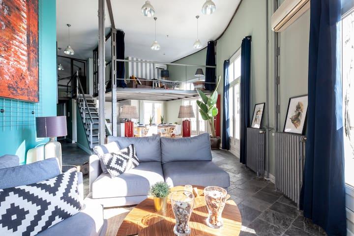 Duplex-penthouse en GraN Via: de Madrid al cielo!!