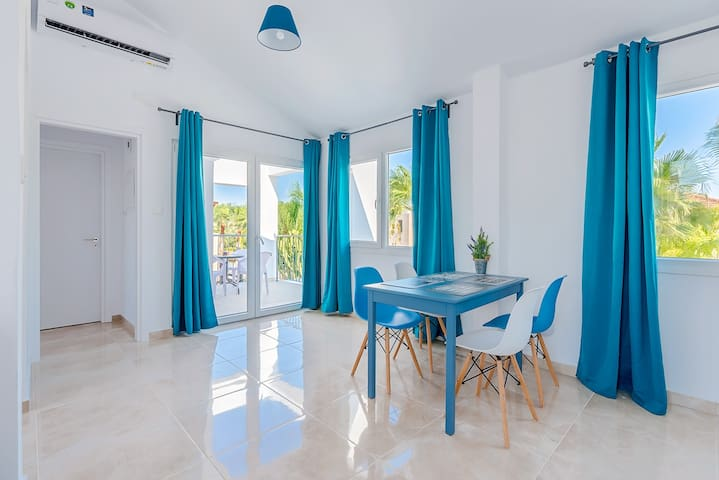 Color Cyprus Apt. 1 bedroom with balcony, sea view