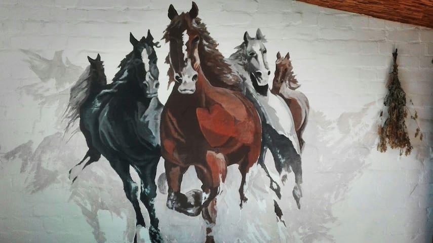 """""""Toma street horses"""""""