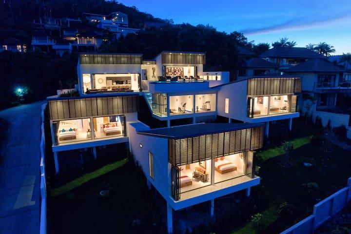 Luxury 6BR Villa with Amazing 180 Degree Views
