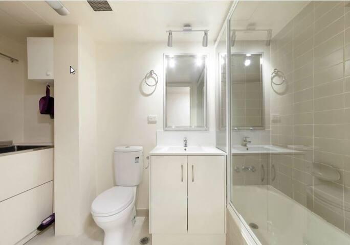 Heart of Brisbane City, 1 bedroom with bathroom. - Brisbane City - Appartement