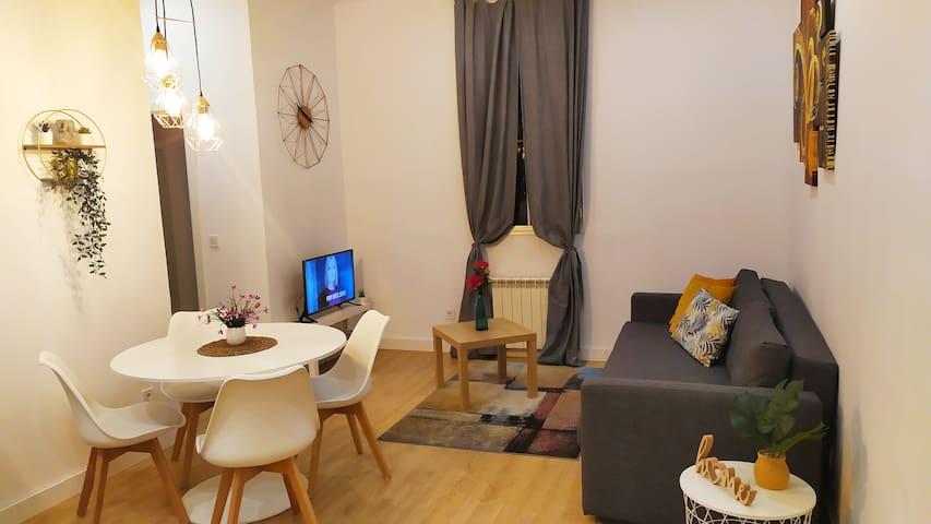 Fresco apartamento en La Latina - Madrid Centro