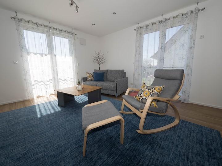 16Lilien Apartmentwohnung 70 m² Gartenblick