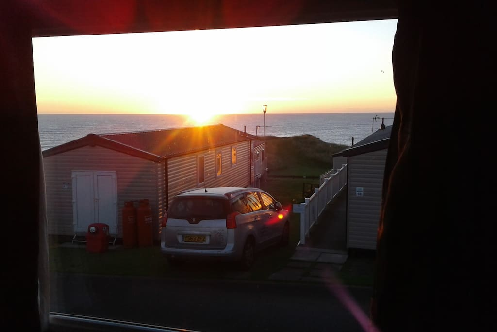 Sunrise from the window