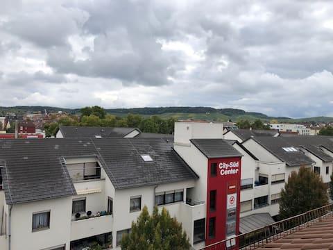 Apartment in Heilbronn gegenüber von City-Süd