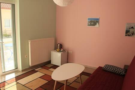 Nice room with terrace and view - Nafplio, GR - Leilighet