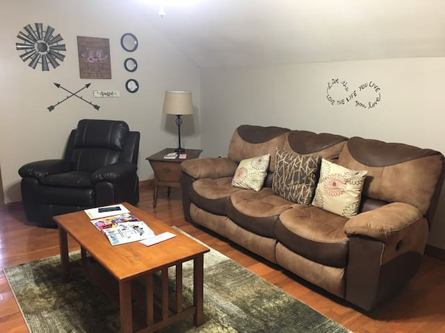 Over 600 sq. ft of living space