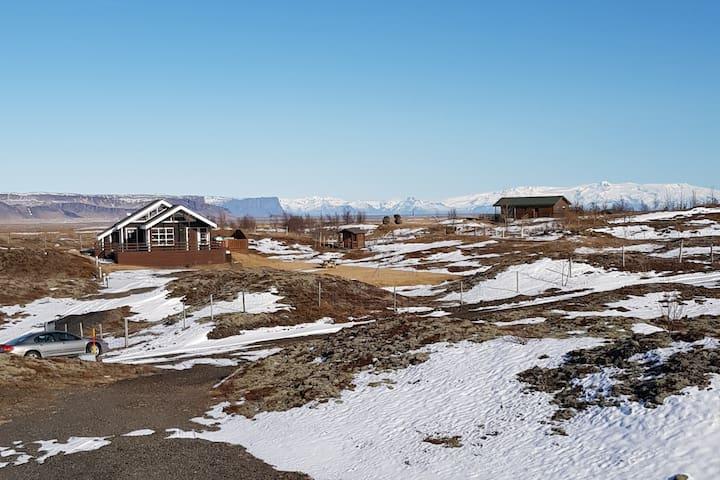 Cabin near Kirkjubæjarklaustur