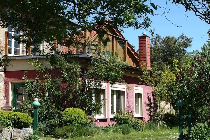 Ferienwohnung im Naturparadies am Breeger Bodden - Breege - Apartamento