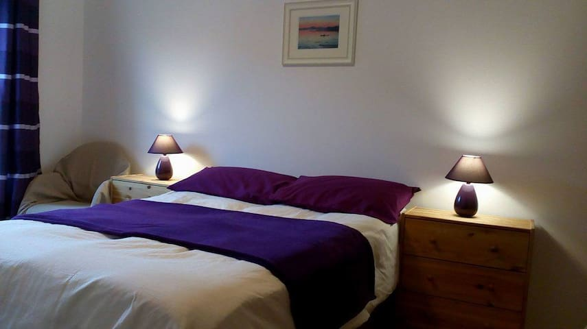 Spacious room in leafy surroundings - Glasgow City - Apartament