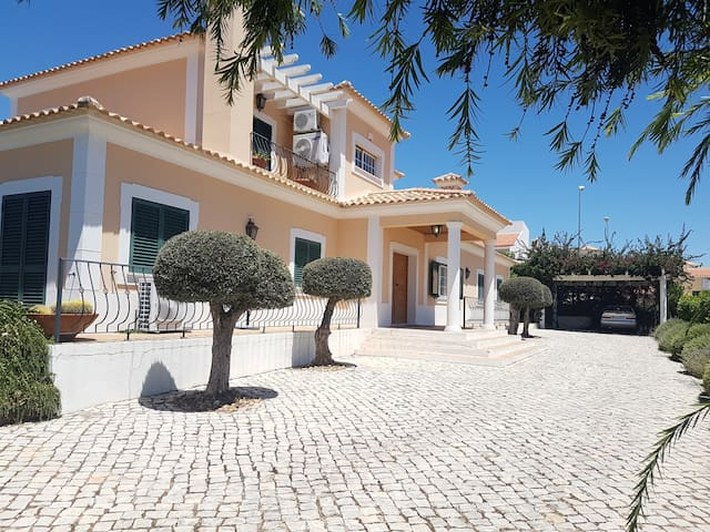 Luxury spacious villa with safety fenced pool