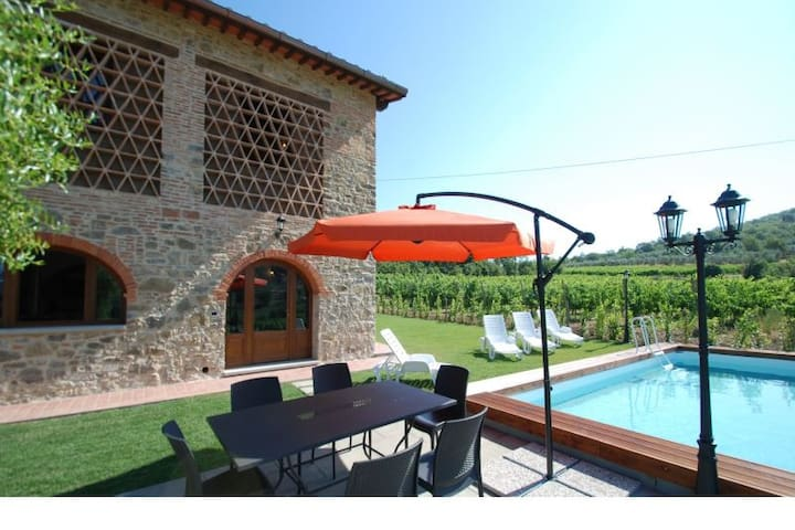 Poggio Case-independent barn with pool