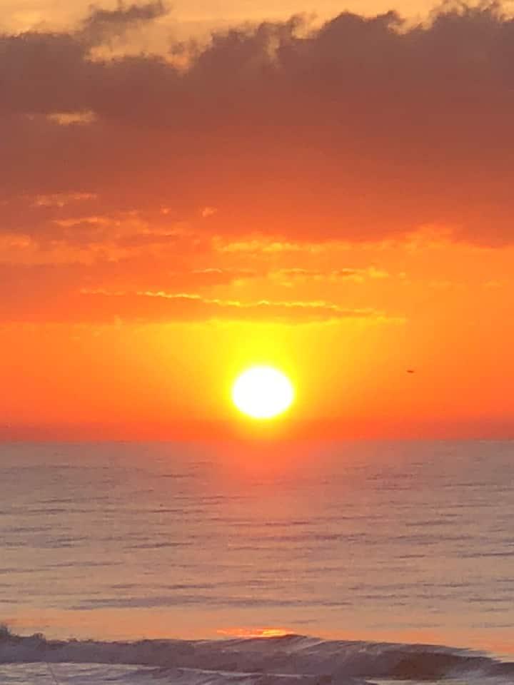 Oceanfront Sunrise & Sound Sunsets