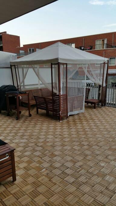 Balcony 50 squaremeters