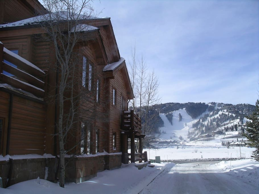 Our upper level corner condo w/views of Deer Valley