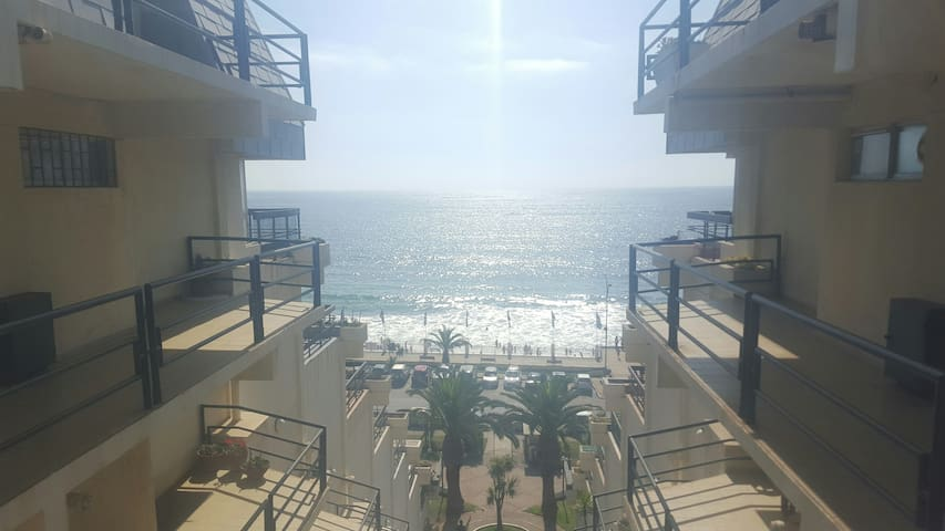 Great View & Location Apartment for Vacations - Con Con - Apartament