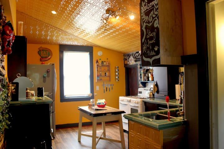 Handmade Charm, a warm, cheery house in the city