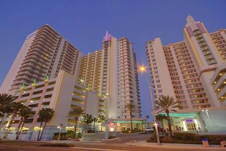 1 Bedroom Deluxe Wyndham Ocean Walk Resort - Daytona Beach - Departamento