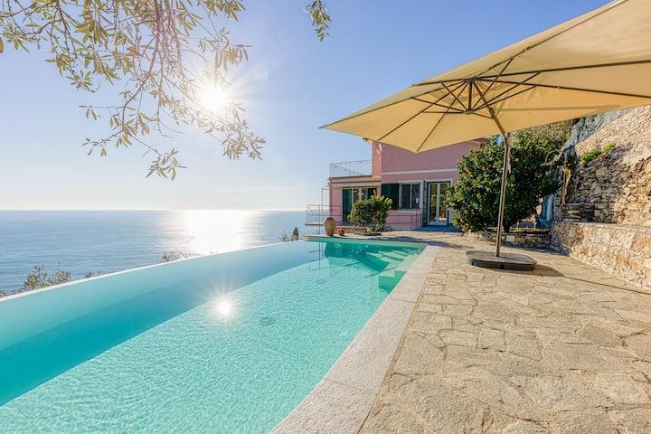 Trilo apartment with swimming pool - Pieve Alta