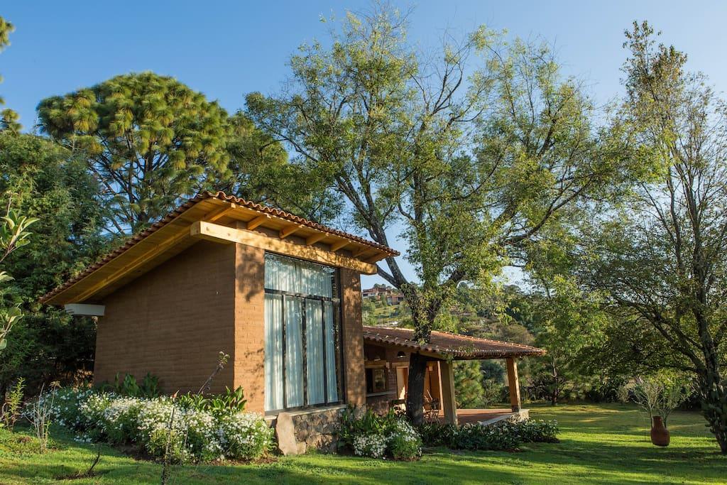 Casa vivero caba as en alquiler en tapalpa jalisco m xico for Vivero casa jardin