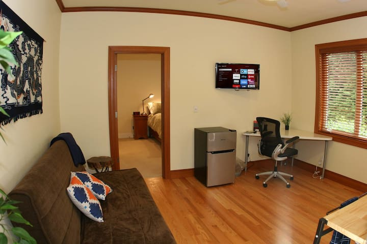 Dwntwn--2 Rooms, Pvt entrance, Executive