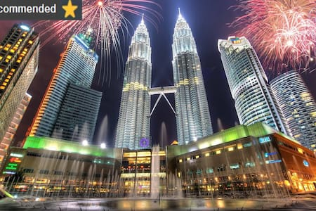 SALE:Elegant Suite in KLCC/Fast Wifi/KL Tower View - 吉隆坡 - 公寓