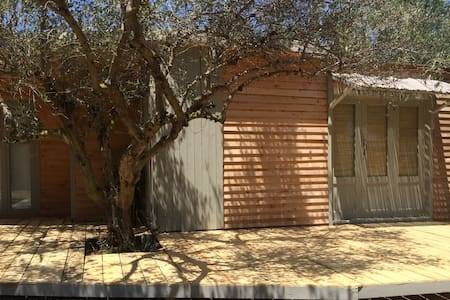 The Olive Shed..off-grid life amonst Olive Trees - Chania