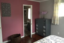 Full bathroom from the master bedroom.