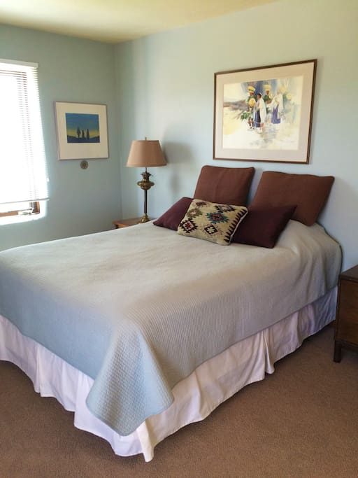 Master Bedroom with a queen bed and private bath