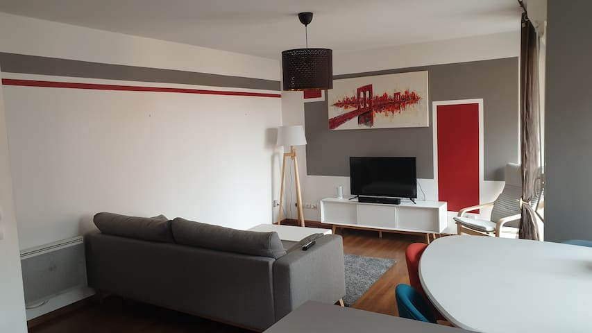 Bel appartement moderne aux Docks