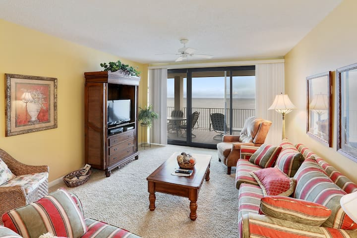 Penthouse, 3/2, Gulf-Front, Panoramic Beach Views