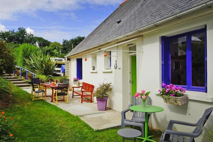 4 star holiday home in St. Michel-en-Grève