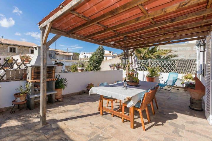 Roqueta Petit - Ferienwohnung mit grosser Terrasse - Son Serra de Marina - Lägenhet