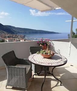Seaview apartment Lahor - Komiža