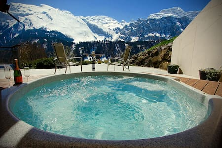 ALPHAVEN Apt. A   Hot Tub, Log Fire - Engelberg - Lakás