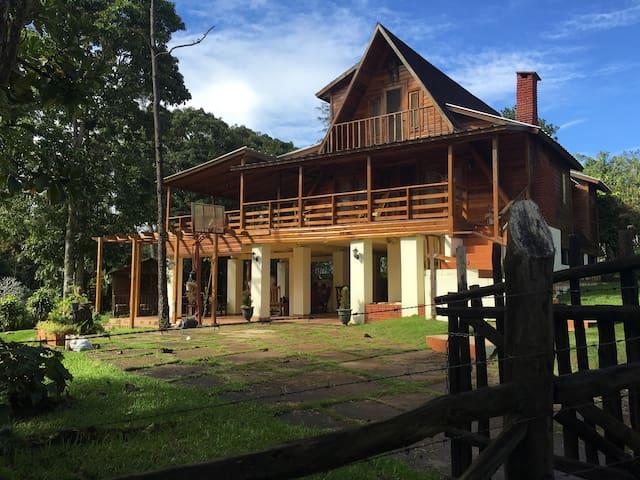 Mi villa en la montaña - Jarabacoa - Rumah
