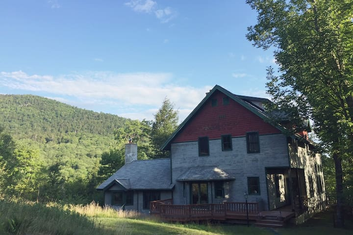 Classic Adirondack Lodge Nestled in the High Peaks