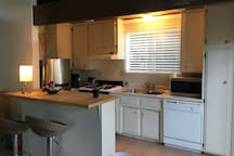 Kitchen coming together, you are going to be comfortable here.