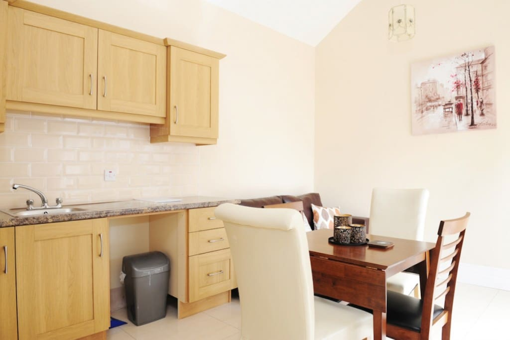 Kitchen / Dining Area in the Mews
