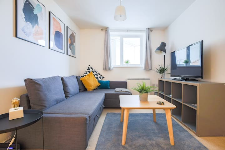 Next Level Scandi Style - 3 Minutes From Station