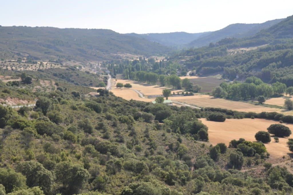 hermoso y tranquilo valle alcarreño