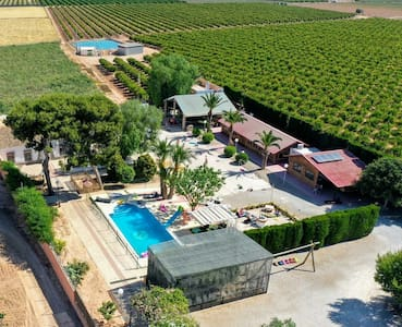 Hacienda con Granja cerca de playa -Celebraciones