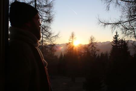 Selbstversorger Berghütte in der Südtiroler Natur - Tret - Casa